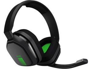 Astro A10 Headset - Stereo - Green, Gray - Mini-phone - Wired - 32 Ohm - 20 Hz - 20 kHz - Over-the-ear, Over-the-head - Binaural - Circumaural