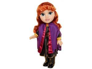 Disney Frozen 2 Anna Travel Doll - Features Violet Travel Cape Boots and Hairstyle - Ages 3+, 14 in