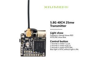 XIUMEI  LST-S2 FPV Micro AIO Camera 5.8G 40CH 25mW 800TVL Transmitter with Y Splitter for FPV Drone like Blade Inductrix etc
