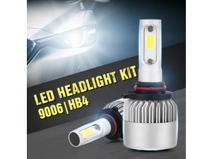 XIUMEI 2Pcs H4  H7 H11 H8 9006 HB4 COB LED S2 Series Auto Car Headlight 72W 7200LM High Low Beam Bulb All In One Automobile Lamp 6000K 9-36V