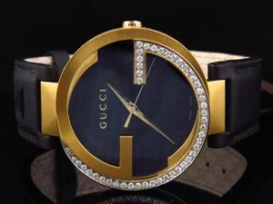 Mens Gucci Interlocking GG Diamond Watch YA133212 (1.5 ct)