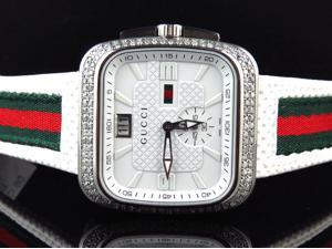 Mens Gucci Coup in White YA131303 (3.5 ct)