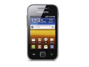 """Samsung Galaxy Ace S5830 Unlocked GSM Android Cell Phone 3.5"""" (UK PLUG, 3Pin) Black"""