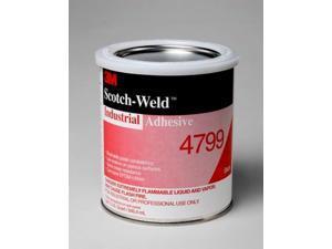 3M™ Industrial Adhesive 4799 Black, 1 Quart