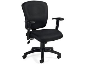 Ergonomic Comfortable Work Chair with Armrests (G11850B) Task Chair for Office, Home, Computer Desk, Workstation, Conference Room Ergonomic with Lumbar Support