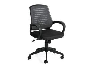 Ergonomic Comfortable Work Chair with Armrests (G10902B) Task Chair for Office, Home, Computer Desk, Workstation, Conference Room Ergonomic with Lumbar Support