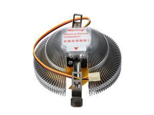 High Quality Efficient Heat Dissipation 3Pin DC 12V PC CPU Cooler Cooling Fan for Intel LGA775 1155 AMD AM2 AM3 754 Heatsink