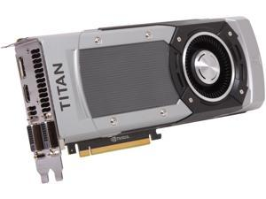EVGA 06G-P4-3790-KR G-SYNC Support GeForce GTX TITAN BLACK 6GB 384-Bit GDDR5 PCI Express 3.0 SLI Support Video Card