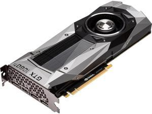 NVIDIA 900-1G611-2550-000 GeForce GTX 1080 Ti Founders Edition DirectX 12 11GB 352-Bit GDDR5X PCI Express 3.0 x16 HDCP Ready SLI Support Video Card