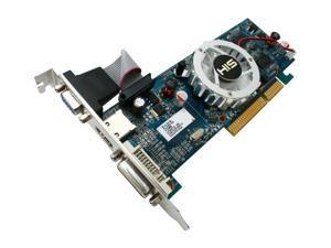 HIS Radeon HD 4350 DirectX 10.1 H435F512HA 512MB 64-Bit DDR3 AGP 4X/8X HDCP Ready Low Profile Ready Video Card