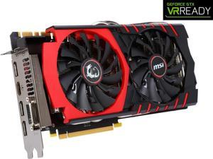 MSI GeForce GTX 980 DirectX 12 GTX 980 GAMING 4G 4GB 256-Bit GDDR5 PCI Express 3.0 x16 HDCP Ready SLI Support G-SYNC Support Video Card