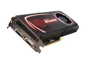 EVGA SuperClocked 012-P3-1572-AR GeForce GTX 570 (Fermi) 1280MB 320-bit GDDR5 PCI Express 2.0 x16 HDCP Ready SLI Support Video Card