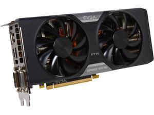 EVGA 04G-P4-3768-KR G-SYNC Support GeForce GTX 760 FTW 4GB 256-bit GDDR5 PCI Express 3.0 SLI Support Video Card w/ EVGA ACX Cooler