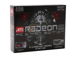 ATI 100-435065 Radeon 9600PRO 256MB 128-bit DDR AGP 4X/8X PC & Mac Edition Video Card