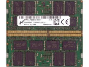 MTA16ATF2G64HZ-2G3B1 Micron 16GB PC4-19200 DDR4-2400MHz non-ECC Unbuffered CL17 260-Pin SoDimm 1.2V Dual Rank Memory Module