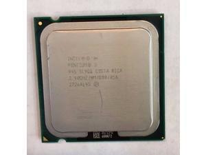 INTEL Sl9Qq Pentium D 945 3.4Ghz 4Mb L2 Cache 800Mhz Fsb Socket Lga775 Processor Only