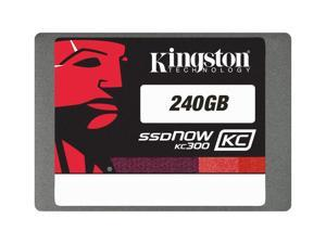 "Kingston SSDNow KC300 240 GB 2.5"" SATA III Internal Solid State Drive SKC300S37A/240G"