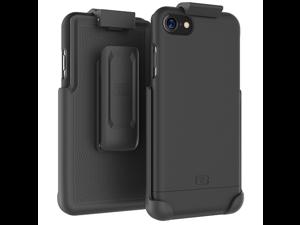 iPhone 7 Belt Clip Case, Encased (SlimShield Series) Hybrid Cover w/ Secure