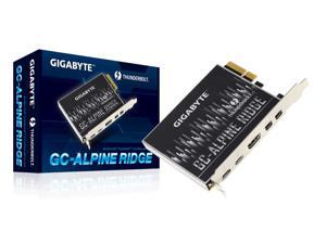 Gigabyte GC-ALPINE RIDGE Thunderbolt3 Certified PCI-E Expansion card Rev 2.0