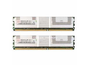 Hynix 2X4GB PC2-5300F DDR2-667MHZ ECC Fully Buffered FB-DIMM Memory Ram