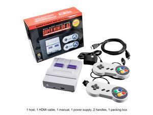 Mignova 4K HDMI TV SNES Game console ,Super Classic Mini HD-OUT TV SNES Game console SN-02 bulit-in 821 Games Console 8 bit Games Home Entertainment System Easy Game