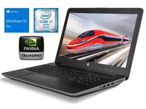 "HP ZBook 15 G3 15.6"" 1920x1080 Full HD Mobile Workstation PC, Intel Core i7-6820HQ 2.70GHz, 16GB DDR4 RAM, NVme M.2 512GB SSD, Win-10 Pro x64, NVIDIA Quadro M1000M  Grade B"