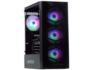 Odyssey Artemis Custom Gaming PC, Black Gaming Case, RGB LED Air Cooling System, Intel Core i5, 8GB RAM, 512GB SSD, Nvidia Geforce GTX 1030, Windows 10 Pro x64