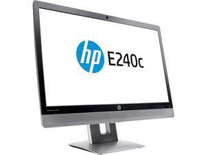 HP EliteDisplay E240c 23.8in Video Conferencing Monitor (M1P00A8#ABA) Grade A
