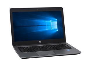 """Grade-B HP EliteBook 840 G1 14"""" 1600x900 HD+ Ultrabook PC, Intel Core i5-4300U 1.9GHz, 8GB DDR3 RAM, 256GB SSD, Win-10 Pro x64"""