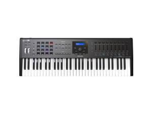 Arturia KeyLab MKII 61 - Professional MIDI Controller and Software (Black)