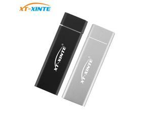 XT-XINTE USB 3.1 to M.2 for NGFF SSD Mobile Hard Disk Box Adapter Card for NGFF 2230/2242/2260/2280 SSD External Enclosure Case