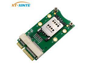mPCIe Mini PCI-E Adapter Card with SIM Card Slot for 3G 4G Module USIM Card Slot Extension / WWAN LTE / GPS Card Desktop Laptop