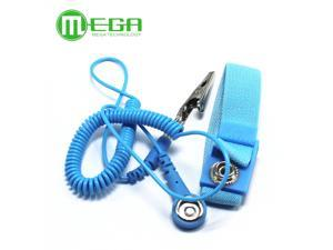 1pcs Adjustable Anti Static Bracelet Electrostatic ESD Discharge Cable Reusable Wrist Band Strap Hand With Grounding Wire