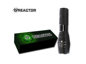 REACTOR SUPER BRIGHT LED FLASHLIGHT - DEFEND AGAINST ATTACKERS PREDATORS, DOGS,  DEFENSE TACTICAL FLASHLIGHT
