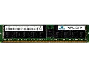 752368-581 - HP Compatible 8GB PC4-17000 DDR4-2133Mhz 1Rx4 1.2v Registered RDIMM