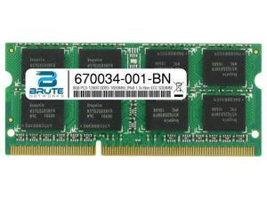 670034-001 - HP Compatible 8GB PC3-12800 DDR3-1600MHz 2Rx8 1.5v Non-ECC SODIMM
