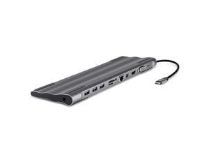 11 All-In-One Docking Station Usb 3.0 Hub Hdmi Charger Heat Dissipation with Mini Dp for Mac book
