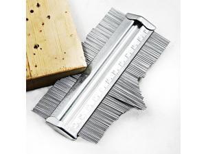 "125mm 5"" Metal Irregular Profile Measuring Gauge Carpenter's Measurement Copy Gauges Contour Gauge Duplicator Tiling Laminate"