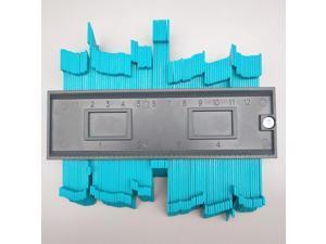 Contour Gauge Duplicator, Plastic Woodworking Shape Tracing Template Measuring Tool Profile Copy Gauge Contour Copy Duplicator