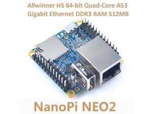 NanoPi NEO2 Allwinner H5 Development Board 64-bit Quad-Core A53 Gigabit Ethernet