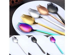 Super Practical  fork Creative 304 stainless steel fork instant noodle spaghetti salad and spoon fork