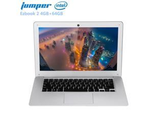 Jumper Ezbook 2 14.0'' LED FHD 10000mAh Ultrabook Notebook Windows 10 Intel Cherry Trail X5 Z8350 Quad Core 4GB+64GB Laptop HDMI