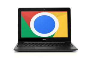 Dell Chromebook 11 Laptop Computer CB1C13, 11.6in High Definition Display, Intel Dual-Core Processor, 4GB RAM, 16GB Solid State Drive, Chrome OS, WiFi (Grade B)