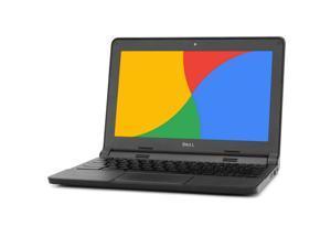 "Dell Chromebook 3120, 1.40 GHz Intel Celeron, 2GB DDR3 RAM, 16GB SSD Hard Drive, Chrome, 11"" Screen (Grade B)"