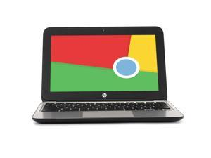 "HP Chromebook 11 G4, 2.16 GHz Intel Celeron, 2GB DDR3 RAM, 16GB SSD Hard Drive, Chrome, 11"" Screen (Grade B)"