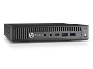 HP EliteDesk 800 G2 Desktop Mini PC, Intel Core i5 6500T 2.5Ghz, 8GB DDR4 RAM, 256GB SSD Hard Drive, USB Type C, Windows 10 Pro