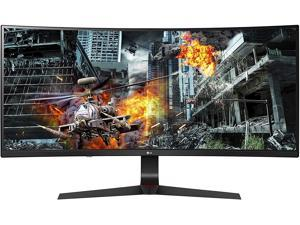 """LG 34GL750-B 34"""" 21:9 UltraWide 2560 x 1080 144 Hz 1 ms MBR IPS Curved Gaming Monitor with G-Sync Compatible, Adaptive-Sync"""