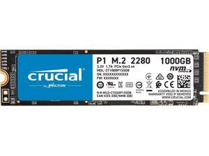 Crucial P1 1TB 3D NAND NVMe PCIe Internal SSD up to 2000MB/s - CT1000P1SSD8