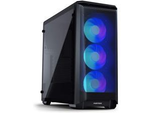 Phanteks Eclipse P400A Digital ATX Mid-tower (PH-EC400ATG_DWT01), Mesh Front Panel, Tempered Glass, Digital-RGB, White