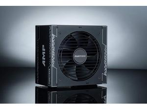 Phanteks AMP Series 750W 80PLUS Gold ATX Power Supply Fully Modular Hybrid Mode Silent Fan Revolt PRO Link Certified